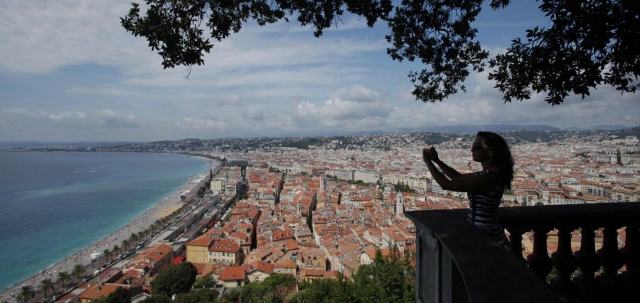 View from Chateu de Nice