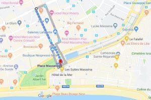 tram t2 to massena walk